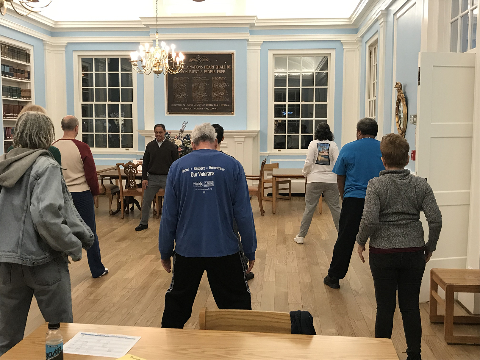 Tai Chi Class at the Library